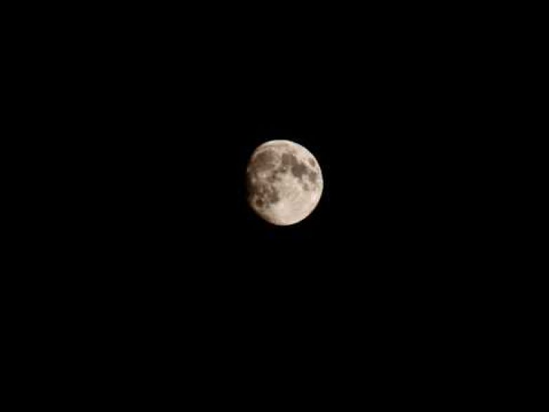 Timelapse Test - The Moon